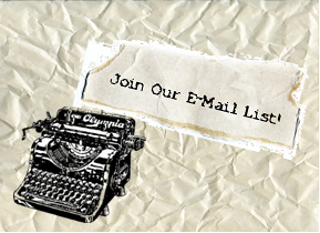 join our email list!