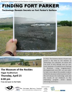 Technology reveals secrets on Fort Parker's Surface