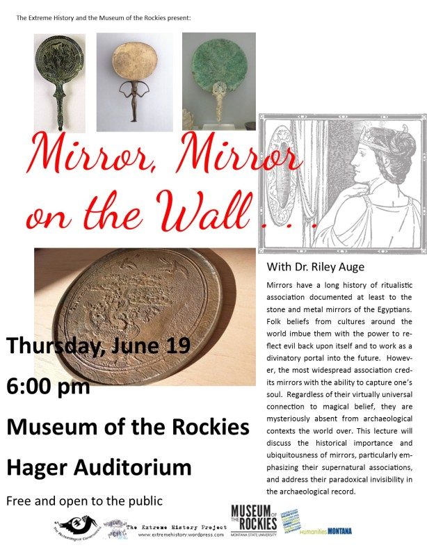 The Extreme History Project Presents Mirror Mirror on the Wall with Dr. Riley Auge