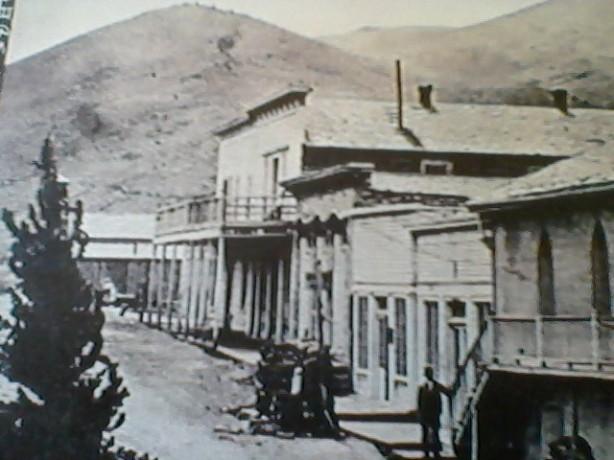 The corner of Jackson and Idaho Streets, 1880s