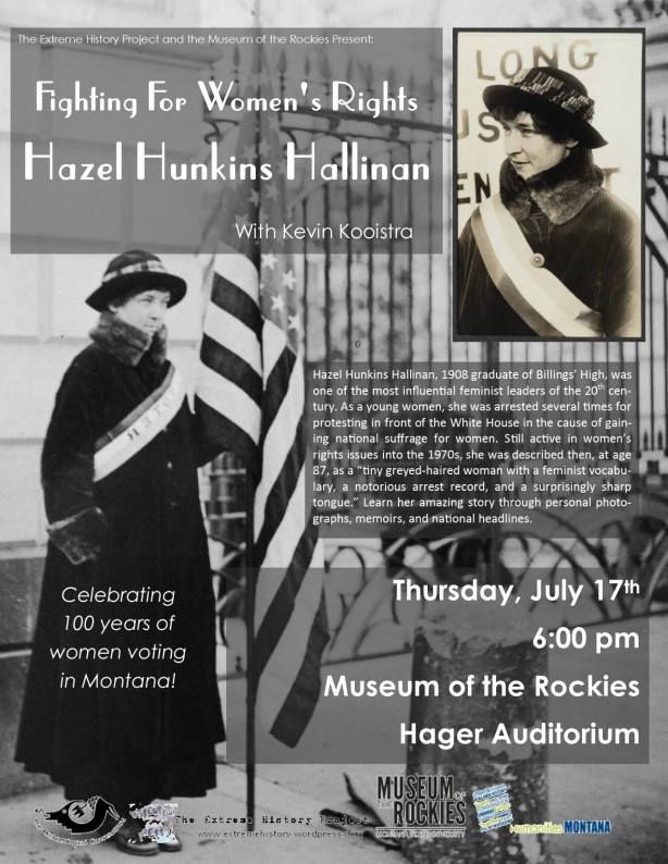Fighting for Women's Rights, Hazel Hunkins Hallinan