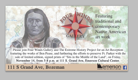 November 14 event at Four Winds Gallery
