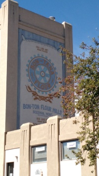 Bon Ton Mill sign