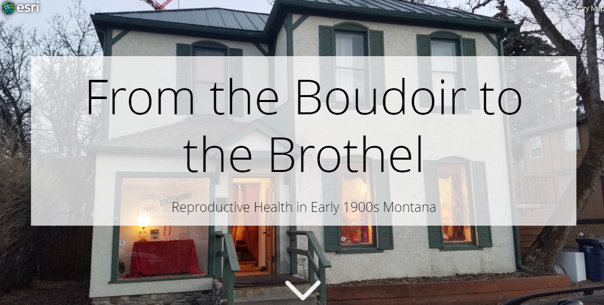 Boudoir to Brothel front page